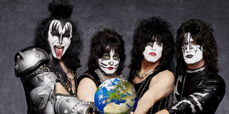 Die Band Kiss.
