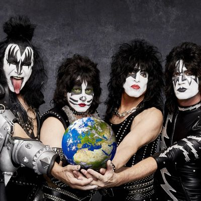 Die Band Kiss.