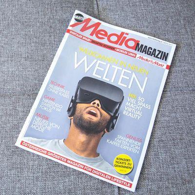 Im neuen Mediamagazin werfen wir einen Blick auf die heißesten Trends in puncto Virtual Reality.