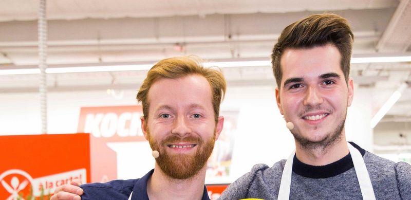 """Thomas und Christopher sind die Sieger der zweiten Auflage von """"Spaß á la carte""""."""