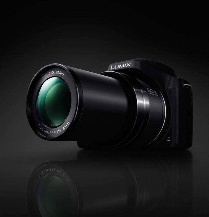 LUMIX FZ82 mit optischem 60x-Zoom