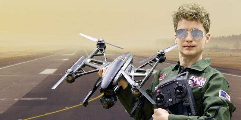 Der Ausprobierer testet den Multicopter Yuneec Q500 Typhoon.
