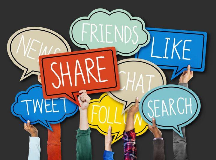 Friends, Like, Share, Tweet: Das bedeuten die gängigen Begriffe.