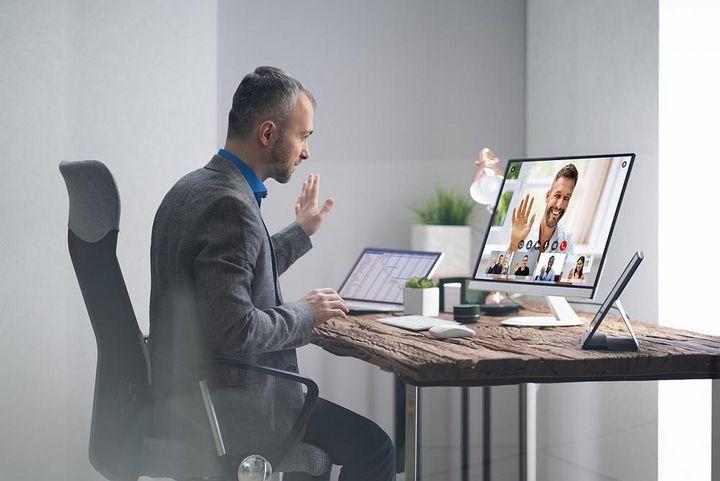 Digitale Sprechstunde mit dem Chef.