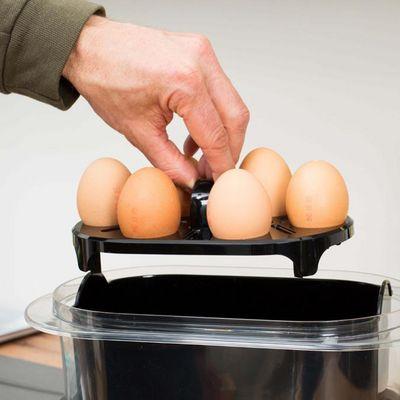 Das perfekte Frühstücksei mit dem Braun Dampfgarer.