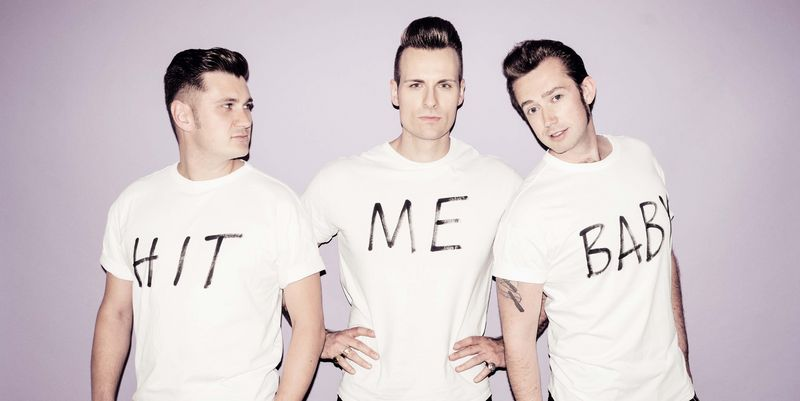 "The Baseballs: ""Hit Me Baby..."""