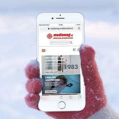 Vier Tipps, die das Smartphone winterfest machen.