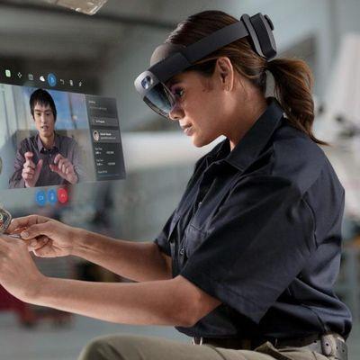 """Microsoft stellt die """"Hololens 2"""" vor."""