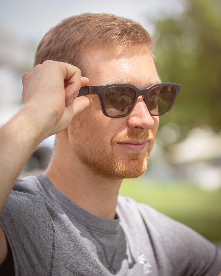 Die Gläser schützen Ihre Augen vor schädlicher UV-Strahlung.