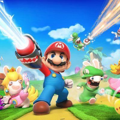 Mario und Ubisofts Rabbids liefern sich heiße Schlachten!