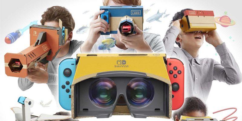 """Nintendo """"Labo"""" bekommt ein viertes Set."""