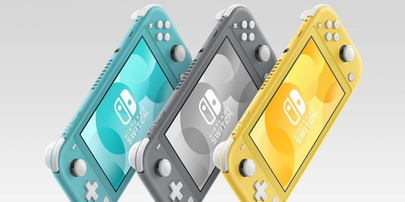 "Die Nintendo ""Switch Lite""."