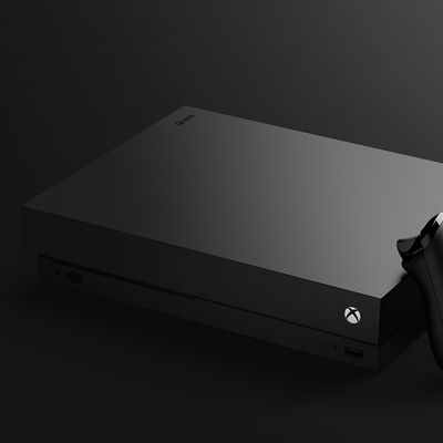 "Die ""Xbox One X"" in voller Pracht!"