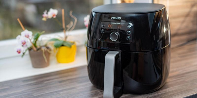 "Der Philips ""Avance Collection Airfryer XXL""."