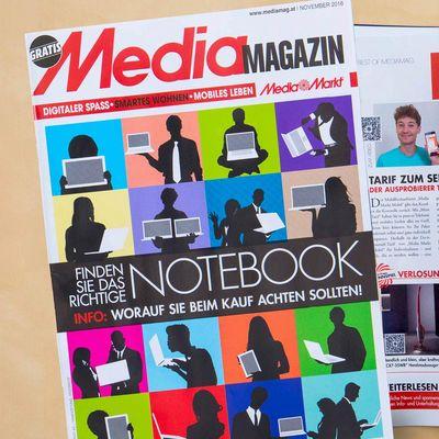 Die November-Ausgabe des Mediamagazins ist da!