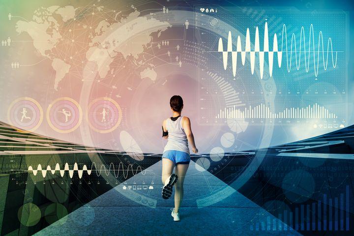 Ein Beispiel für den möglichen Nutzen des IoT ist der Bereich Gesundheit: Individuelle Work-Outs werden vorgeschlagen aufgrund der vorliegenden Daten zu Fitness, Wetter, Terminen & Co.