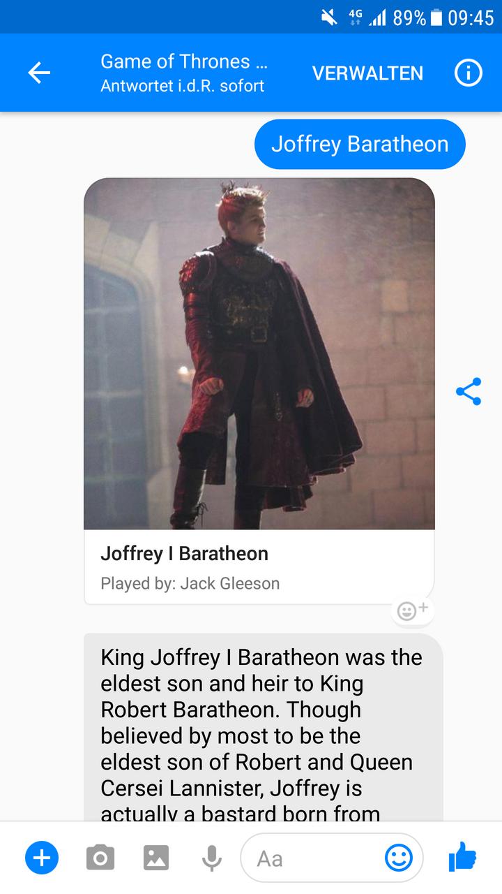 Auch der wohl unbeliebteste König aller Zeiten ist in G0TB0Ts-Datenbank!