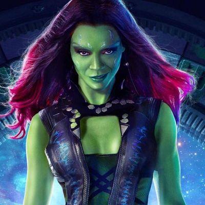 "Im Marvel-Universum, egal ob bei den ""Guardians"" oder ""Avengers"", ist Saldana Gamora."