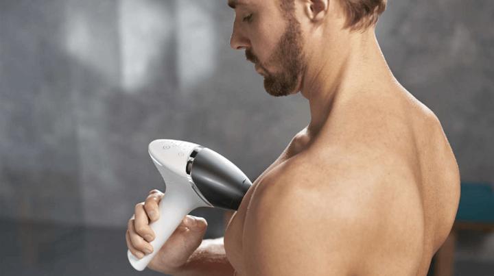 Philips Lumea for Men kann überall außer im Gesicht angewendet werden.
