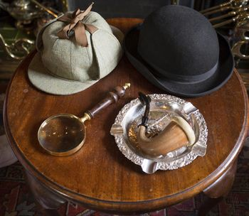 Hüte und Pfeife