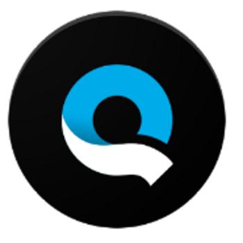 """Die App """"Quik"""" für Android."""