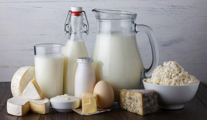 In Eiern und Milchprodukten steckt viel Vitamin A.