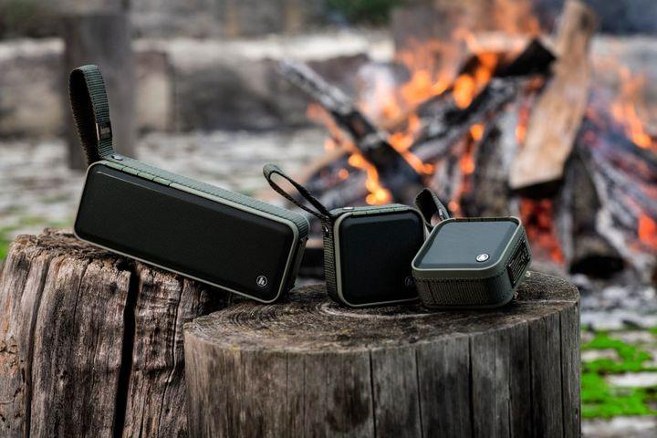 """Der Outdoor-Musikspaß wächst beim """"Hama Soldier"""" durch die Multi-Connect-Funktion mehrerer Speaker."""