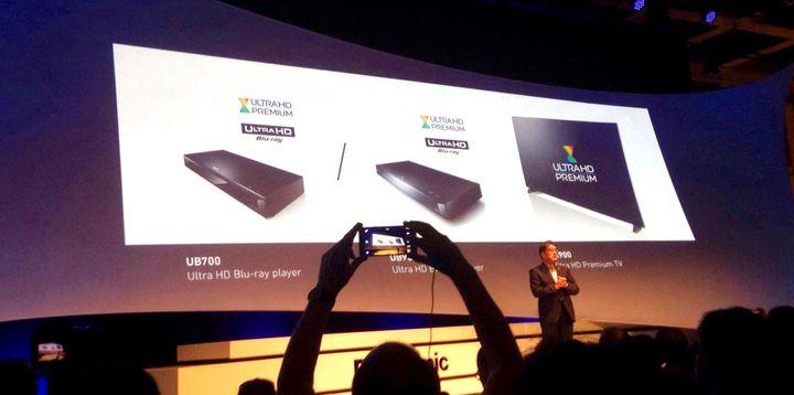 TV-Gerät und Blu-ray-Player mit 4K-UHD vorgestellt.