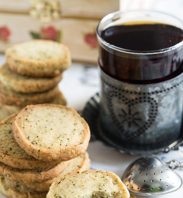 Rezept für Cookies mit Vanille und Schwarztee