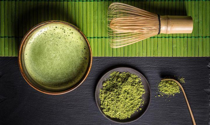 Gesund und wohlschmeckend: Matcha Tee.