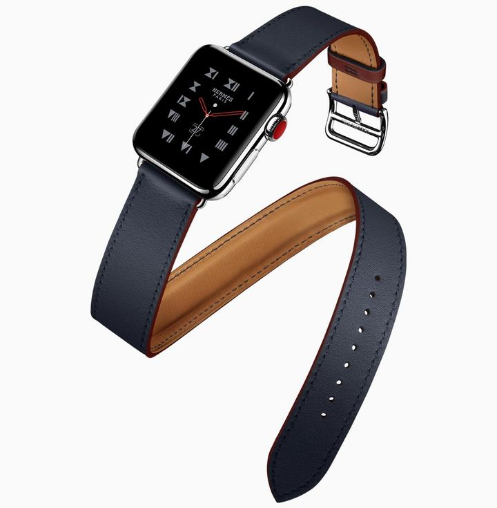 Apple Watch Hermès: Neue Armbänder in Frühlingsfarben.
