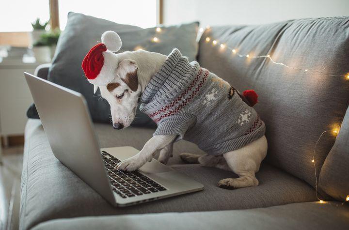 Computer zu Weihnachten