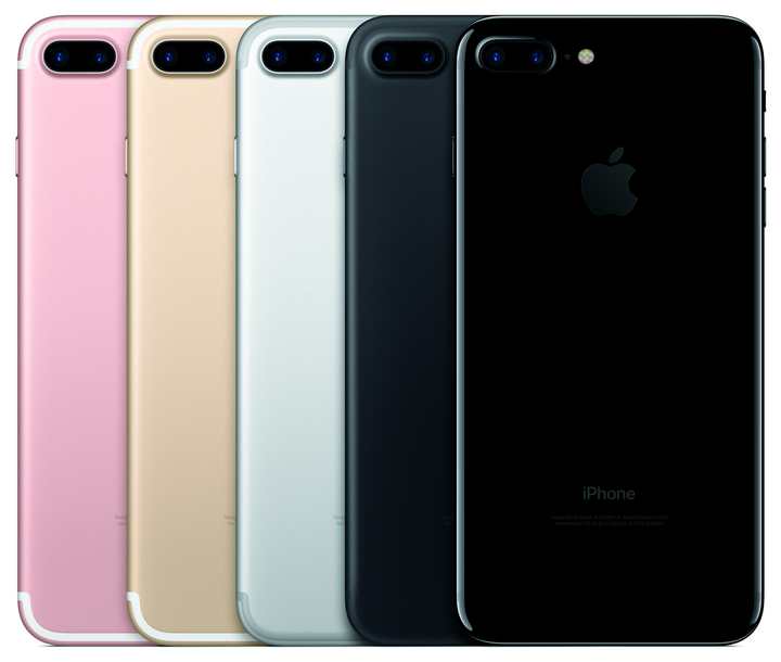 iPhone 7 Plus mit doppelter Linse