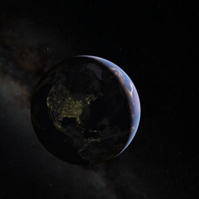 Planeten können jetzt per Google Maps besucht werden.