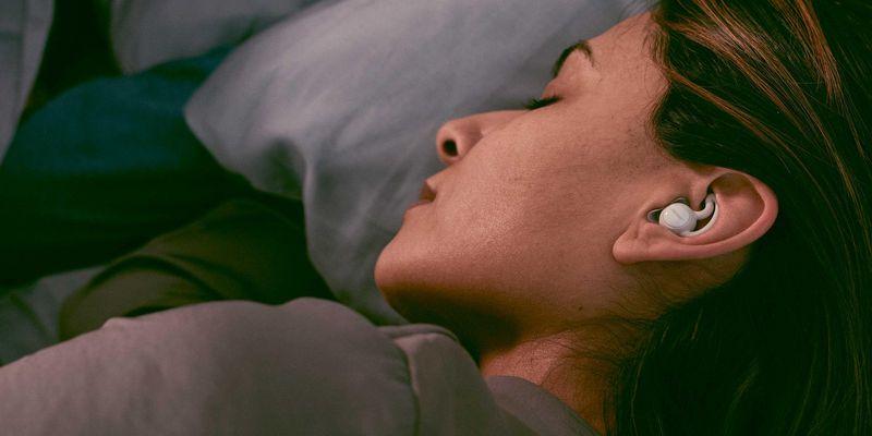 Diese Kopfhörer helfen beim Einschlafen.