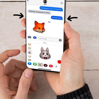 Neue Tastenkombination: So erstellt man einen Screenshot am iPhone X.