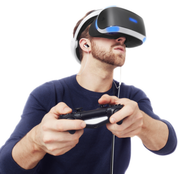 VR-Brille für Playstation