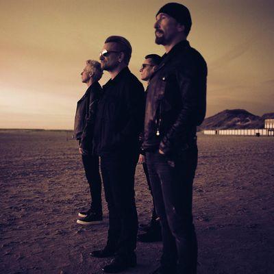 """U2 veröffentlichen ihr neues Album """"Songs Of Experience""""."""