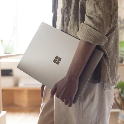 Schlank und schnell: Das neue Surface Laptop.