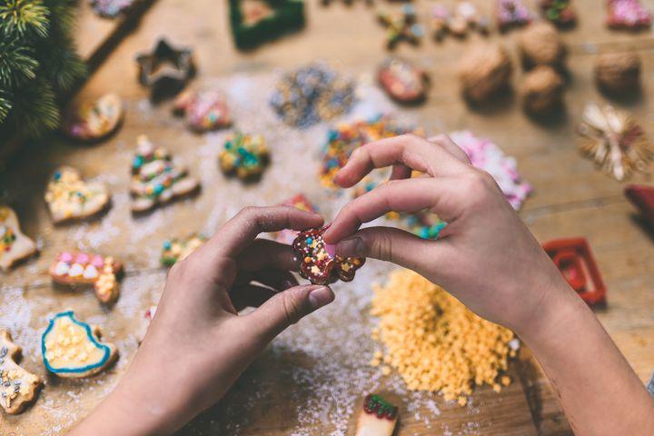 Kekse verzieren