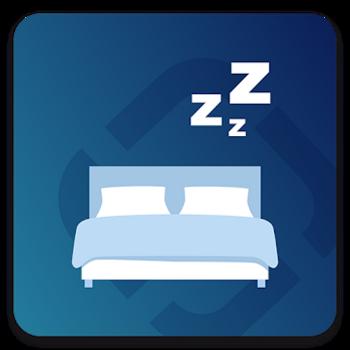 """Die Schlaf-App """"Sleep Better"""" von Runtastic."""