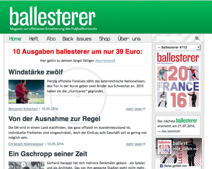 Ballesterer.at