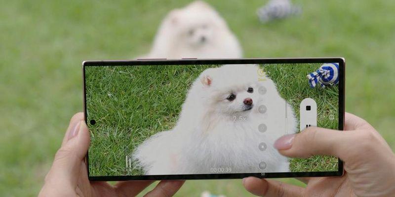 "Die Kamera-Features der ""Galaxy Note20""-Phones."