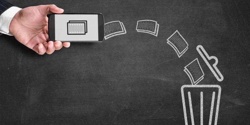 Entfernen Sie Datenmüll von Ihrem Smartphone