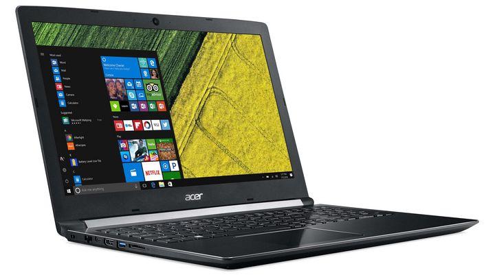 """Als perfektes Notebook für Multimedia-Anwendungen bietet sich das neue 15,6 Zoll große """"Aspire 5"""" an."""