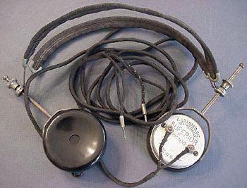 Kopfhörer aus 1919-21