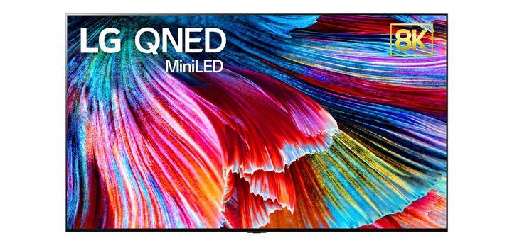 """LG präsentiert """"QNED MiniLED"""" auf der CES 2021."""