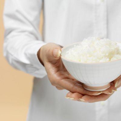 Reis macht lange satt.