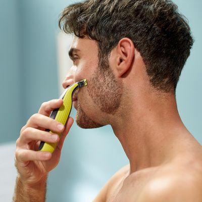 Der Philips OneBlade ist für die Rasur von Gesicht und Körper geeignet.