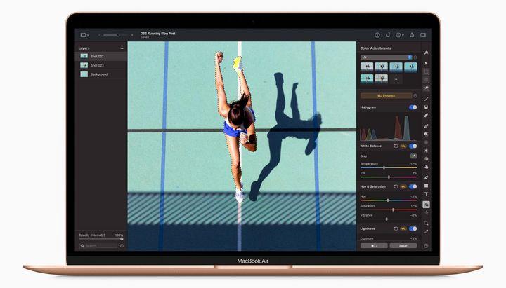 Die Neural Engine ermöglicht intelligente Bildbearbeitung.